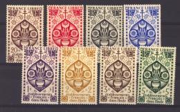 Inde  :  Yv  223-30   ** - India (1892-1954)