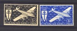 Inde  -  Avion  :  Yv  4-5  ** - India (1892-1954)