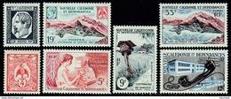 Nouvelle-Calédonie - 1960 - N° YT 295 à 301 - Neufs ** - MNH - New Caledonia