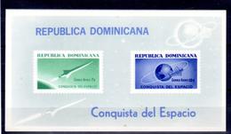 Dominicaine 1964, Conquête De L'espace, 3 X  BF 30**, Cote 24 €,