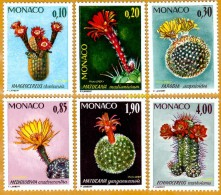 Monaco **LUXE 1974 P 997 à 1002 Série 6v - Unused Stamps