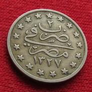 Egypt 1 Qirsh 1327/2 1910 KM# 306  Egipto Egypte Egito Egitto Ägypten L3-3 - Egipto