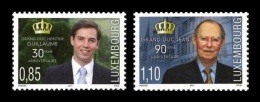 Luxembourg 2011 Mih. 1898/99 Prince Guillaume And Grand Duke Jean MNH ** - Luxembourg