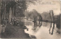 Pont Aven Les Bords De L'aven Au Bois D'amour Petit Pli D'angle - - Pont Aven
