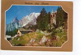 U209 Cartolina Di Saluti Dai Monti Verso Novata _ Circolata 1977 - Saluti Da.../ Gruss Aus...
