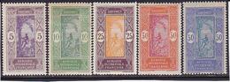 Dahomey Série N°  61-62-63-64-65 Neufs * - Voir Verso  Et Descriptif - - Dahomey (1899-1944)
