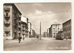 CT-N-02034- TORINO- CORSO ORBASSANO -BICICLETTE - TRAM - VIAGGIATA 1957 - Altri