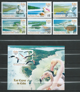 Cuba 2007 Islands And Wildlife.Birds/Pelicans.shells.Seagulls.Reptiles.Lizards.Turtles.Marine Life.S/s And Stamps.MNH - Cuba