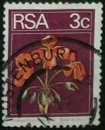 SUDAFRICA - AFRICA DEL SUR 1974 Flora And Fauna. USADO - USED. - África Del Sur (1961-...)
