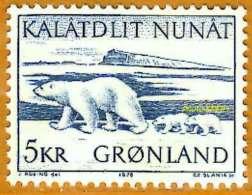 Groênland **LUXE 1976 P 84 - Ungebraucht