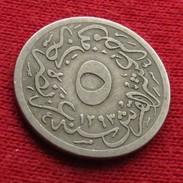 Egypt 5/10 Qirsh 1293/20 1894 KM# 291  Egipto Egypte Egito Egitto Ägypten L7-3 - Egypte