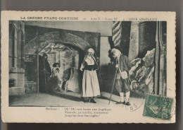 THÉATRE - La Crèche Franc Comtoise - 1923 - ACTEURS - Acte II Scène III  - Soeur Angélique - Animée - Théâtre