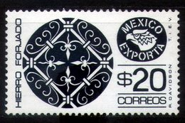 Exporta Type 5 $ 20.00 Wrought Iron Plate 35.9 Mm Black-gray - Mexico