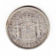 ESPAGNE, KM 721, 1p, 1904 SILVER .   (MP02) - Monnaies Provinciales
