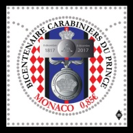Monaco 2017 Mih. 3331 Palace Guards Corps MNH ** - Ongebruikt