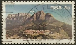SUDAFRICA - AFRICA DEL SUR 1979 The 50th Anniversary Of University Of Cape Town. USADO - USED. - África Del Sur (1961-...)