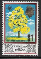 Trinidad AndTobago, Scott # 157 Used Poui Tree, 1969 - Trinidad & Tobago (...-1961)
