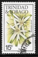 Trinidad AndTobago, Scott # 394a Used Flowers, 1984 - Trinidad & Tobago (...-1961)