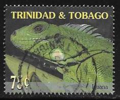 Trinidad AndTobago, Scott # 614 Used Endangered Iguana, 2001 - Trinidad & Tobago (...-1961)