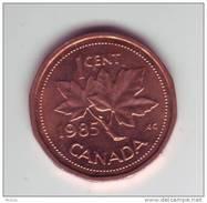 Canada, 1985, 1¢, Élizabeth II - Canada