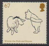 United Kingdom Mi 3005 Children's Books - Winnie The Pooh - Europa C.E.P.T. - Pooh & Eeyore  * * 2010 - 1952-.... (Elizabeth II)