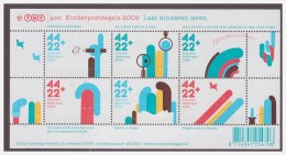 Nederland / Netherlands 2009 Childwelfare Teaching Chilren Lines S/S MNH - 1980-... (Beatrix)