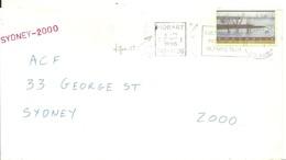 LETTTER 1995 AUSTRALIA - Verano 2000: Sydney