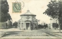 78 POISSY. Entrée De La Ville 1907 - Poissy