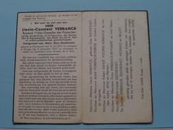DP Lievin-Constant VERBANCK ( Duchesnet ) NIEUWPOORT 31 Juli 1875 - BRUGGE 8 November 1943 ( Zie Foto's ) ! - Avvisi Di Necrologio