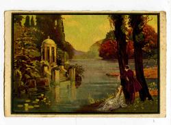 C 19546  -  Couple Romantique Au Bord De L'eau  - Litho, Art Nouveau - Style Corbella - Illustrators & Photographers