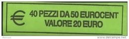 ITALIA  2012 - ROLL 50 CENT  ORIGINALE ZECCA - DATA VISIBILE - FDC - Rollos