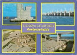 Ir. J.W. Topshuis. Bedieningscentrum Van Alle Schuien Mehrbildkarte - Niederlande