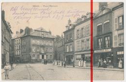 PostCard - Sedan - Place D'Harcourt - 1914 - Feldpost - Sedan