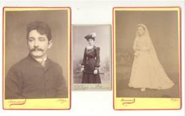 LIEGE Lot De 6 Photos Sur Carton ( Petit Et Grand Format) - Bébé, Mode,... - Anonymous Persons