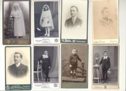 VERVIERS  Lot De 20 Photos Sur Carton ( Petit Et Grand Format) - Bébé, Mode, Communiant(e), Enfant, ... - Anonymous Persons