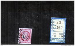 France N°49 - 1870 Bordeaux Printing