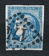 FRANCIA 1870 - Ceres Imperforated 20 C. - Yt:FR 44 - 1870 Emissione Di Bordeaux