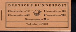 Markenheftchen Bund Postfr. MH 04 Y II Theodor Heuss MNH ** (1) - [7] West-Duitsland