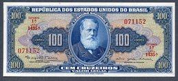 Brésil P 170c * 100 Cruzeiros  1964 * UNC * Série 1435  N° 071152. - Brasilien