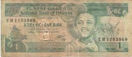 ETHIOPIE   1 Birr   (1991)   Sign.4   P. 41b - Ethiopie
