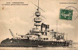 CHERBOURG LE VALMY GARDE COTES CUIRASSE - Guerra