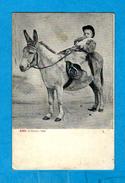 ** ALTEROCCA - TERNI (1856 - 1910) - PROMENADE SUR LA MULE **   -   Edizion : /  N° 4360 - Pittura & Quadri