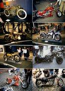 8 Photos Originales Motocyclisme - Moto Harley-Davidson - Motard - Motocyclettes De Grosses Cylindrées - Lot 7/14 - Cyclisme