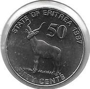 *eritrea 50 Cents 1997 Km 47  Bu - Eritrea