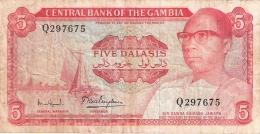 GAMBIE   5 Dalasis   ND (1972-86)   Sign.7   P. 5d - Gambia