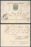 AK735 Carte Postale De Service De Namur à Anvers 1899 - Cartes Souvenir