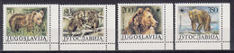 JOEGOSLAVIË - Michel - 1988 - Nr 2260/63 (WWF) - MNH** - Neufs
