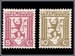 Luxembourg 0231/32*  Type M  H - - Nuovi