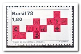 Brazilië 1978, Postfris MNH, 70 Years Red Cross In Brazil - Brazilië