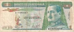 GUATEMALA   1 Quetzal   4/1/1989   P. 66 - Guatemala